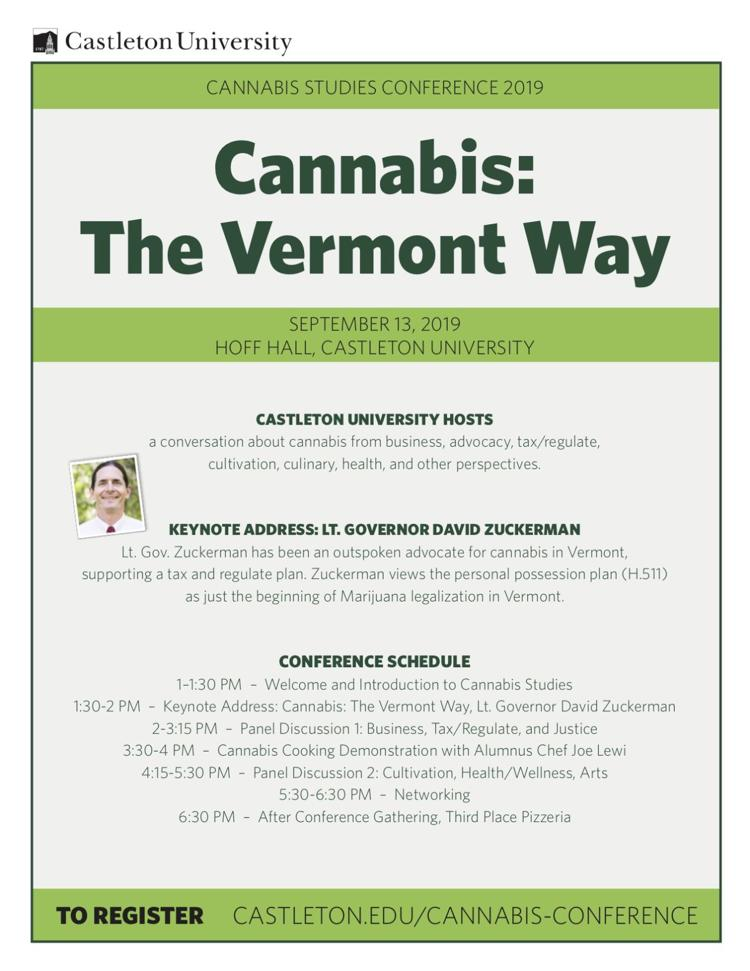 Cannabis: The Vermont Way