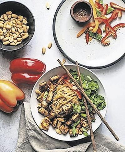 Harissa-spiced tofu