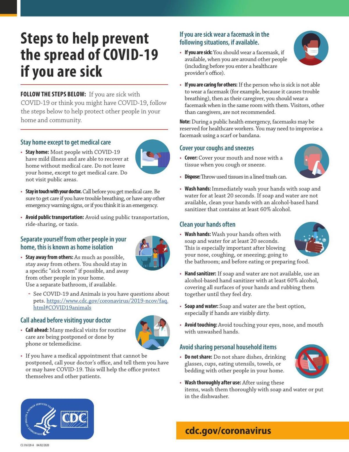 Sick with COVID-19 Fact Sheet