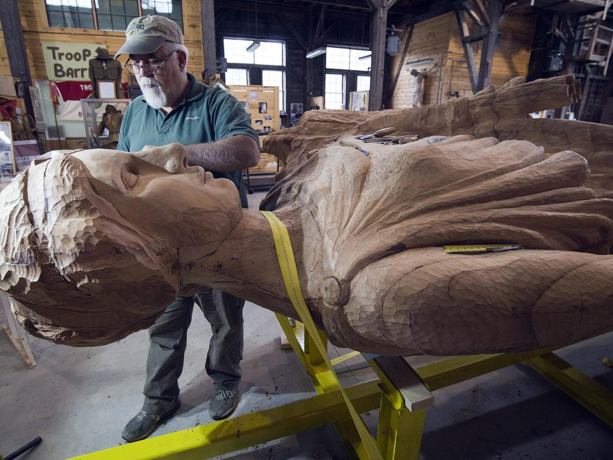 For the love of carving: Jerry Williams and Chris Miller earn Governor's honors