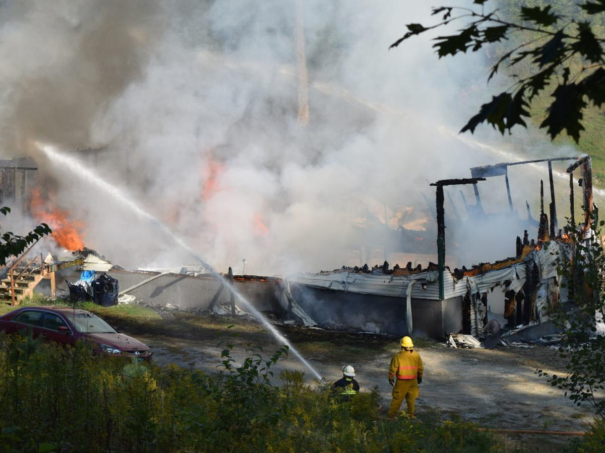 Fire destroys Woods Road home in Hubbardton