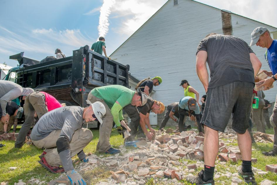 Spartan Death Race picks up fallen Town Hall chimney