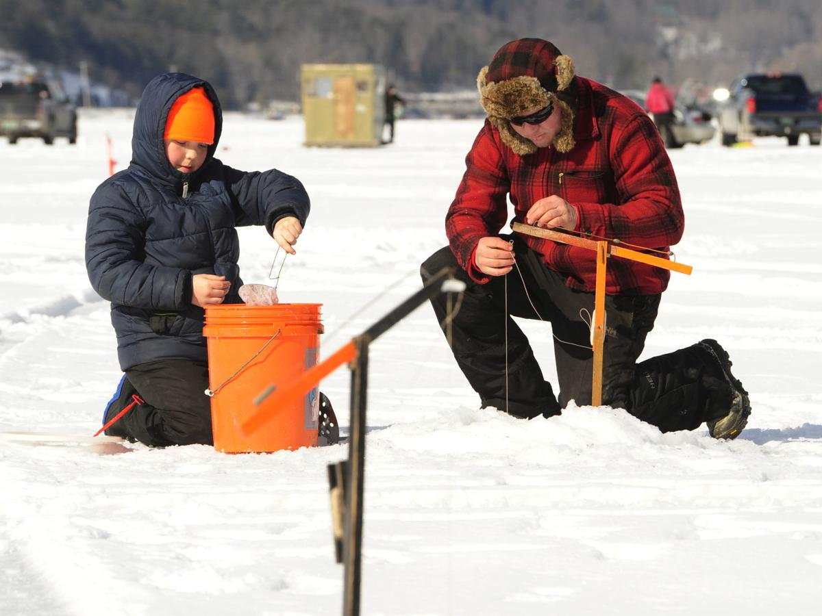Ice is nice: Bomoseen hosts annual ice fishing derby