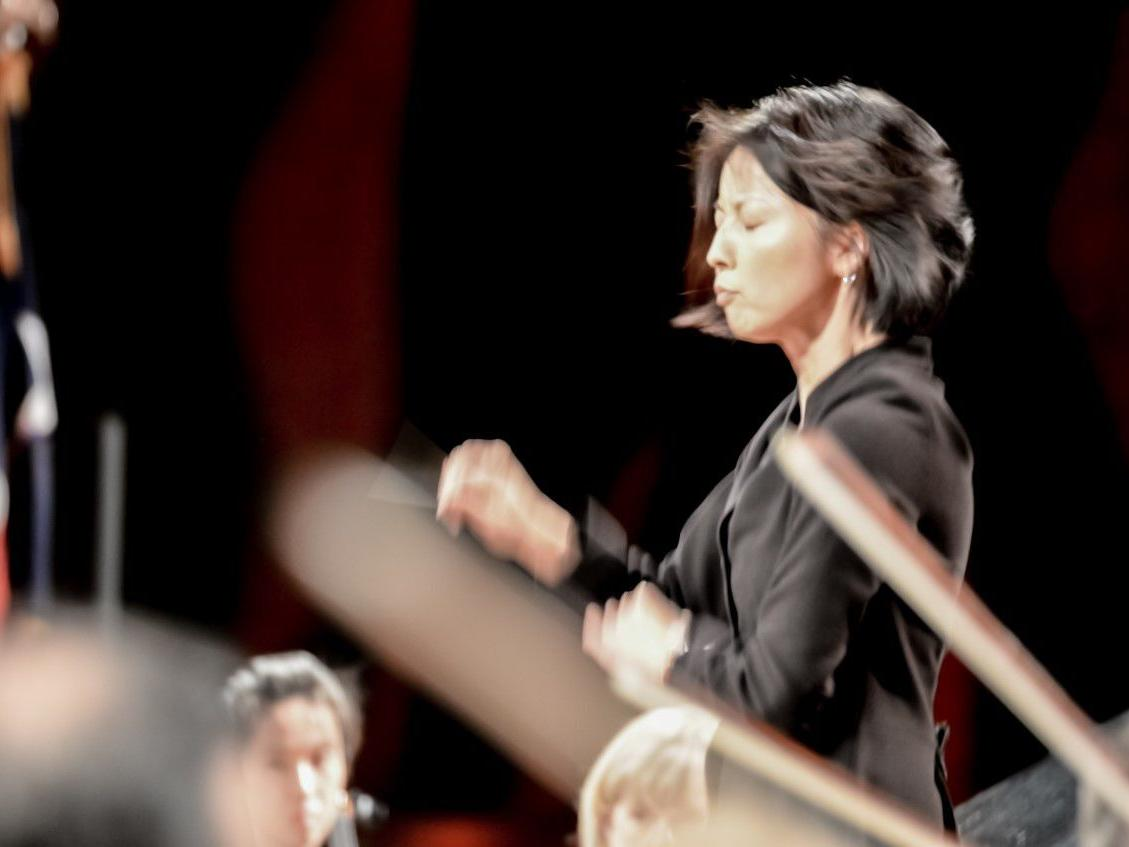 Akiko Fujimoto tries VSO reins: First of 7 music director candidates