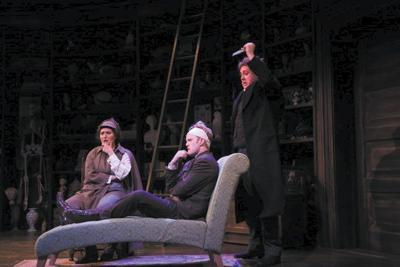 Falling-down laughs at 'Baskerville'