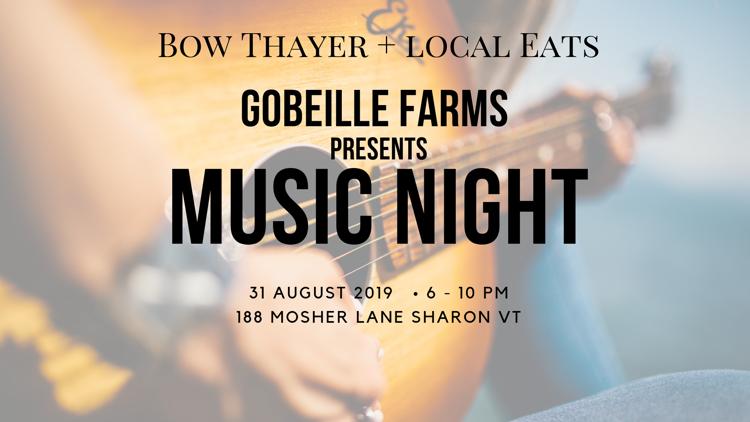 The Barn on Gobeille Farms Music Night