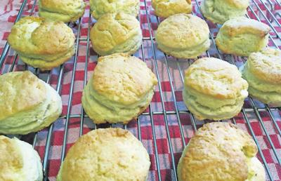 The secret to TENDER BUTTERMILK BISCUITS is a cold truth