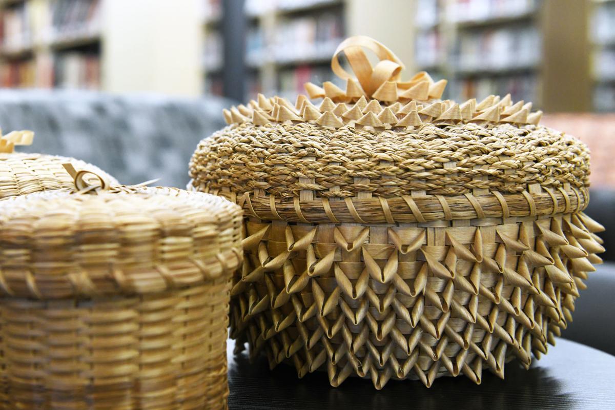 2 - Sweet Grass Basket
