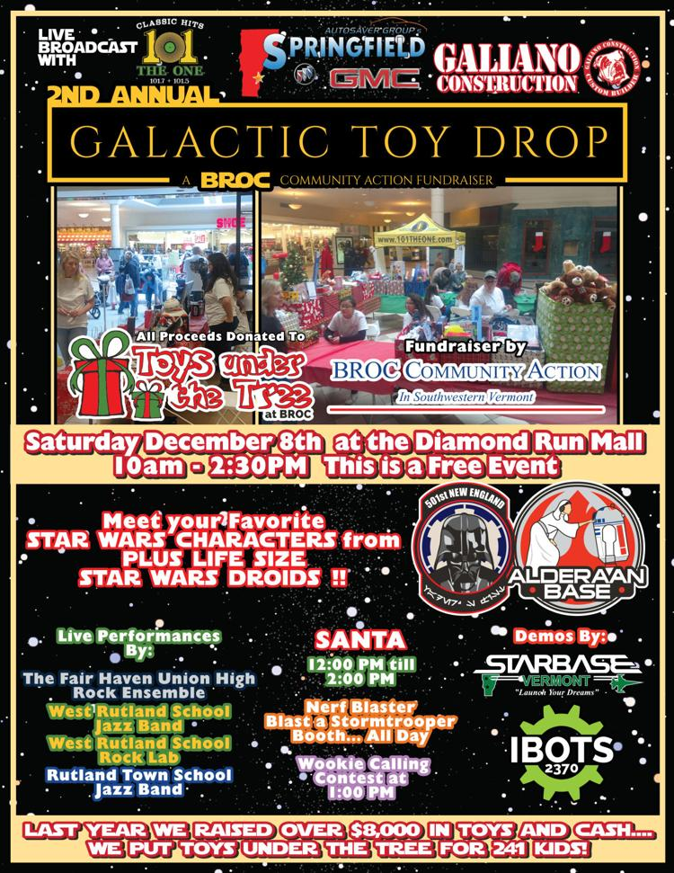 Galactic Toy Drop Poster