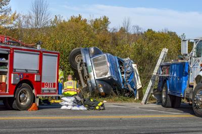 Crash closes Route 4A