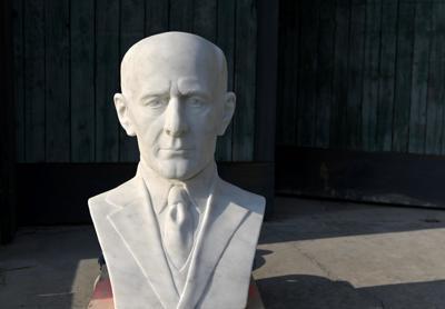 Paul Harris sculpture