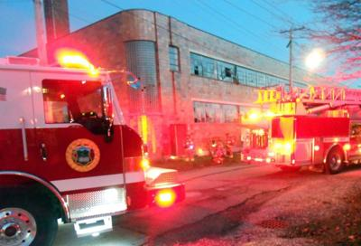 Fire at former dress factory