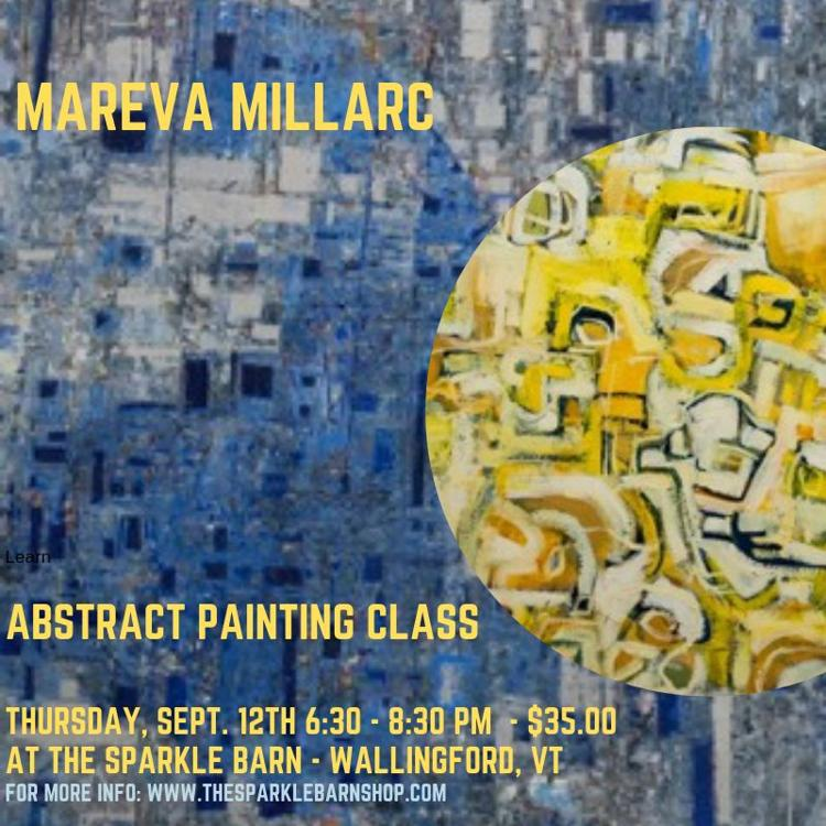 Mareva Millarc Abstract Painting Class