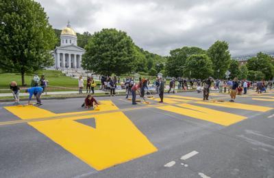328-foot-long Black Lives Matter sign