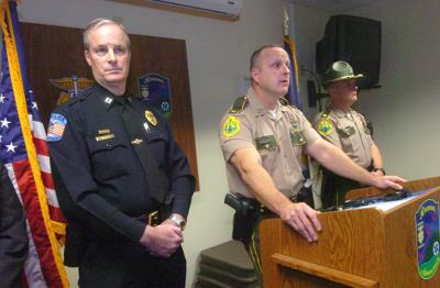 Police reveal man's criminal past during press conference