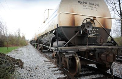 State: Sewer pipes under rail spur not a concern