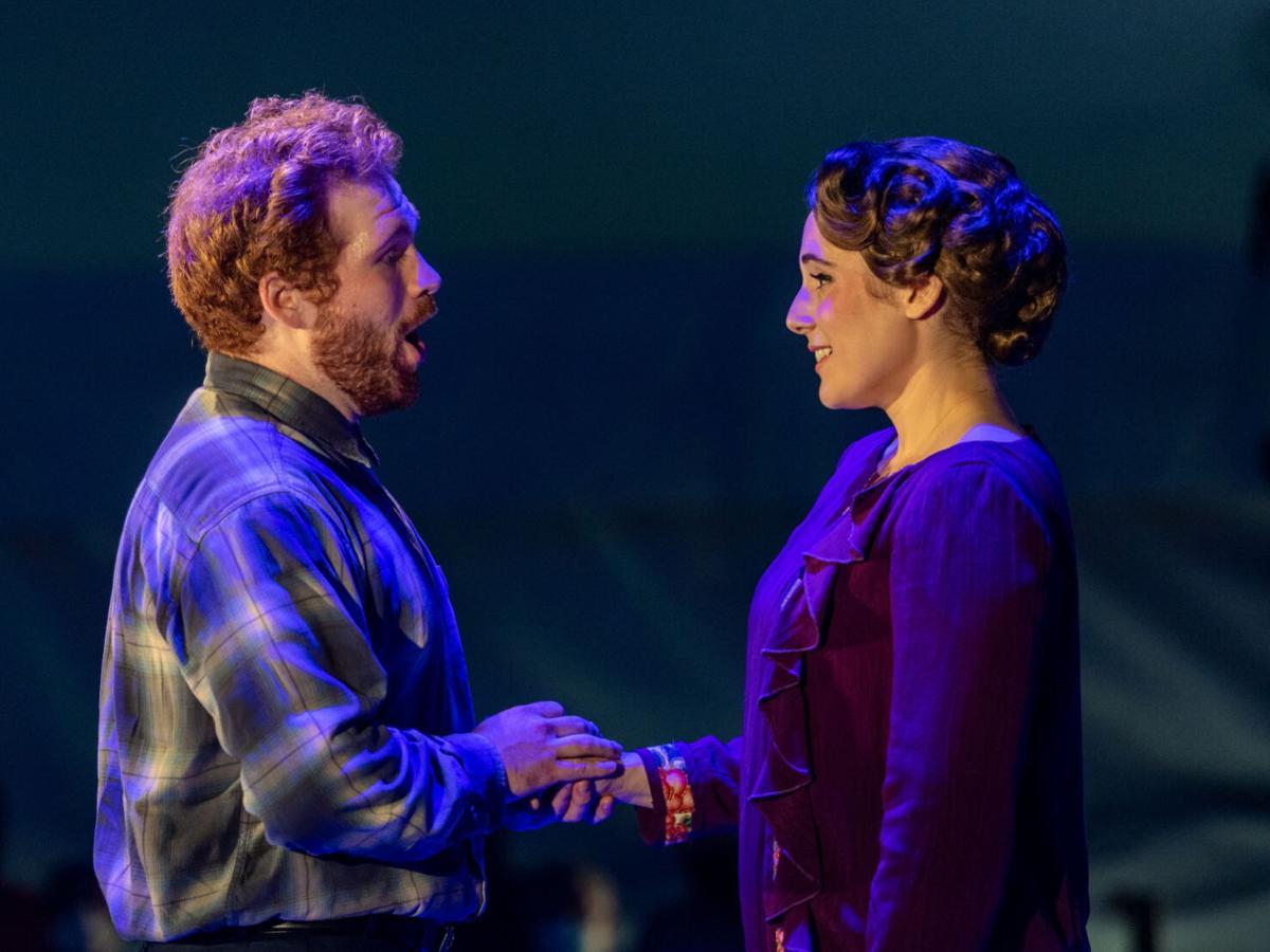 Opera Review: 'La Bohème' breaks hearts 'under the big top'