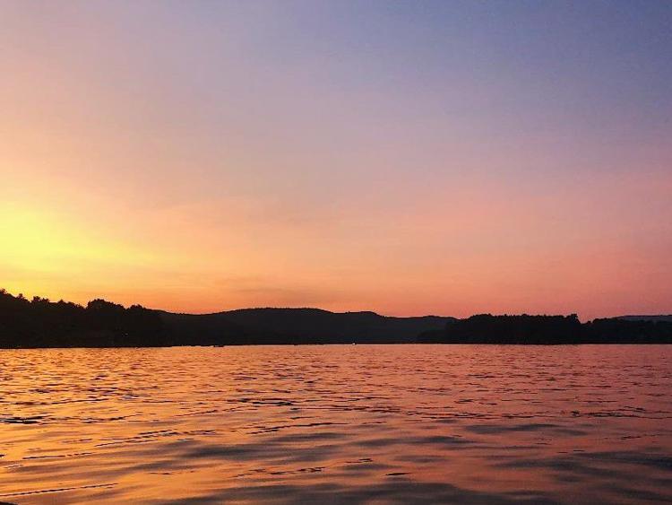 Lake Bomoseen at Sunset