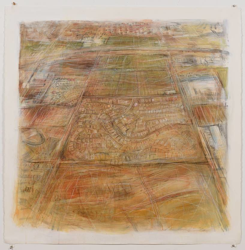 Janet Fredericks' view of her earth : 'Land Marks: The Land We Mark, Marks Us'