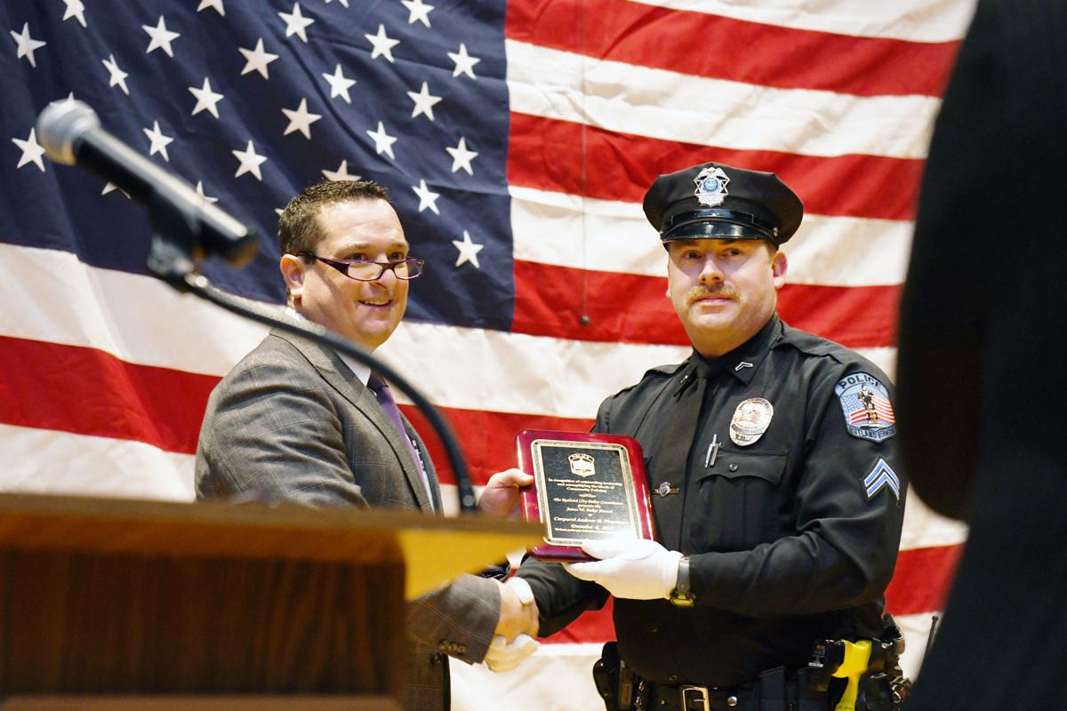 Police recognized for life-saving efforts