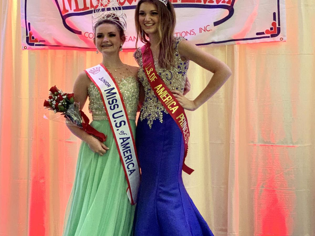 Local teens take pageant honors