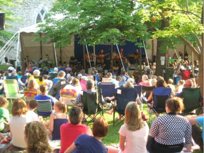 Middlebury Summer Festival on-the-Green
