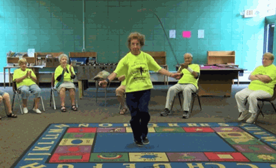 At 96, This Woman Still Jumps Rope And Teaches Fitness Classes