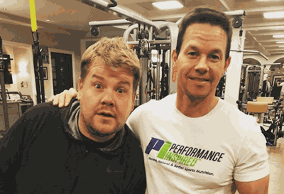 James Corden Tried Out Mark Wahlberg's Intense Morning Workout