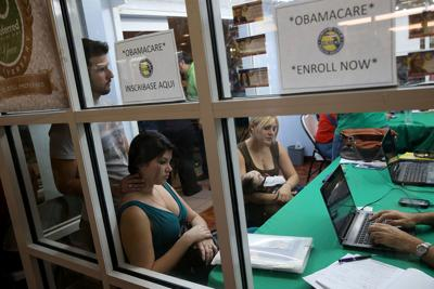 Deadline For Coverage Starting Feb. 1 Draws Crowds At Health Care Sign Up Location
