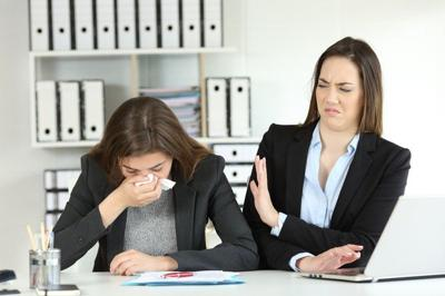 Are Your Coworkers Making You Sick?