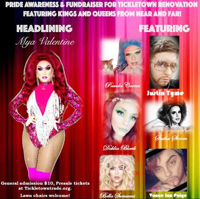 Tickletown to host drag show fundraiser Saturday