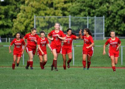 Salamanca girls soccer