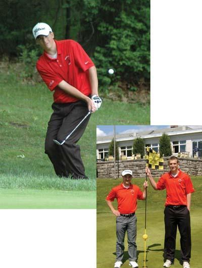 Two warrior golfers to compete at sectionals
