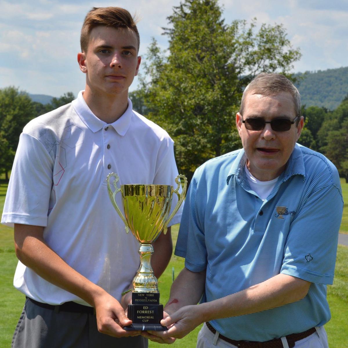 Penn York Ed Forrest Cup trophy