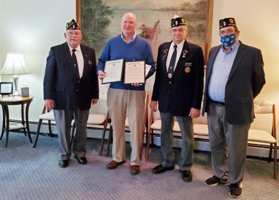 VanRensselaer recognized for veteran's funeral service