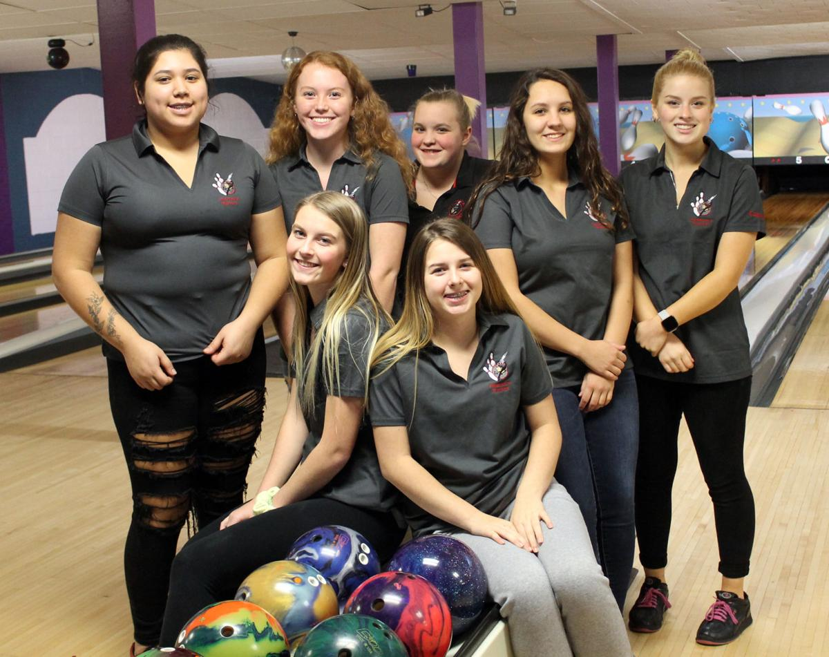 SHS girls bowlers