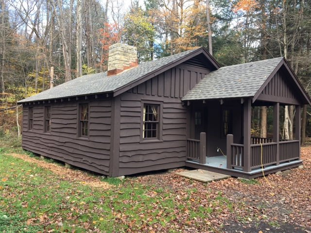 Ordinaire Ryan Trail Cabin Work Completed In Allegany State Park