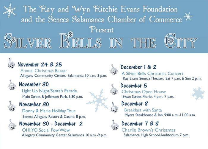 Seneca Allegany Christmas Market 2020 Silver Bells month long celebrations begin Nov. 24 | News