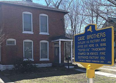 Little Valley gains historic sign for Case site