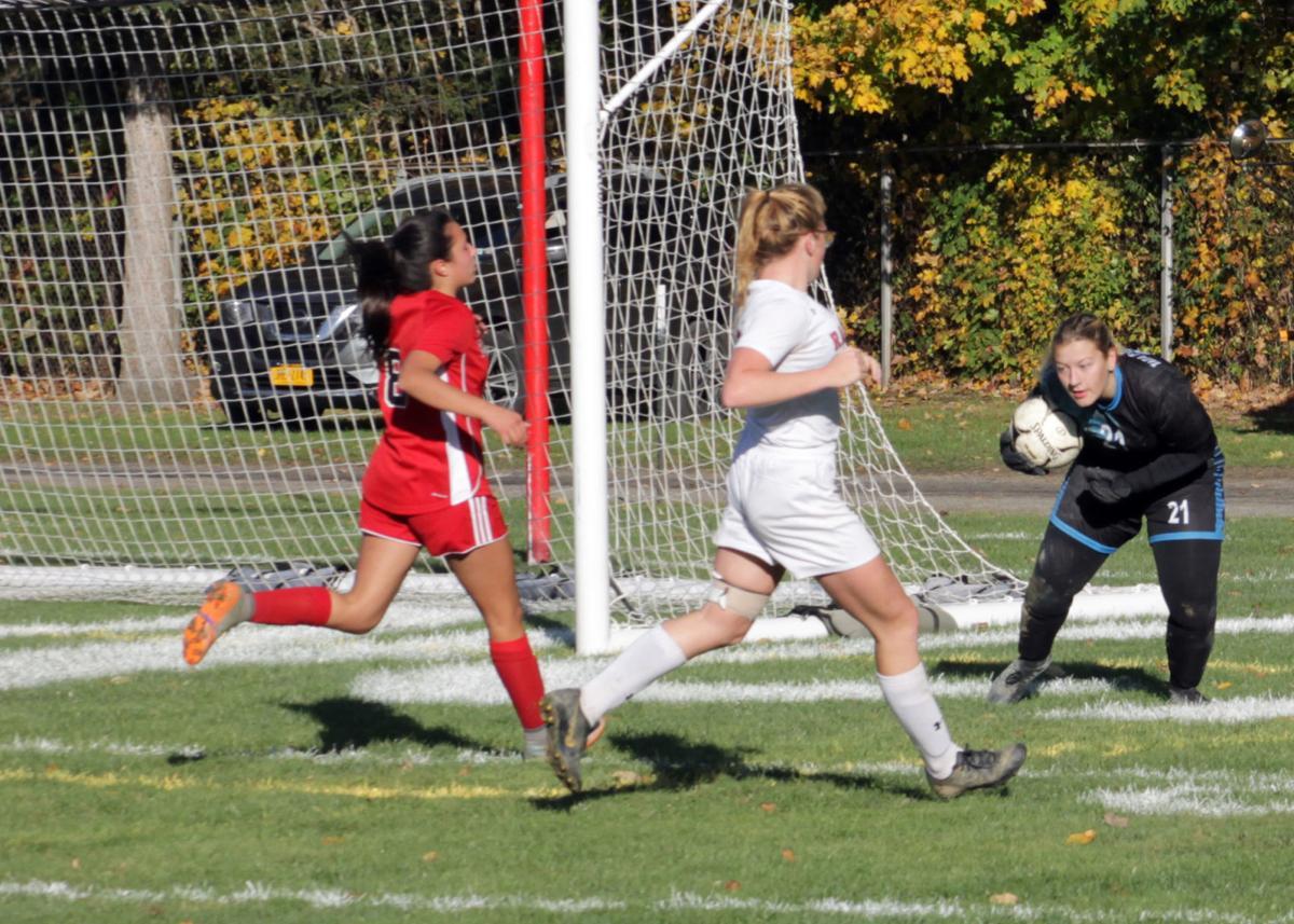 Randolph-Salamanca girls soccer