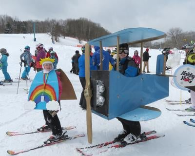 Modifications for what would have been Mardi Gras Weekend at Ellicottville