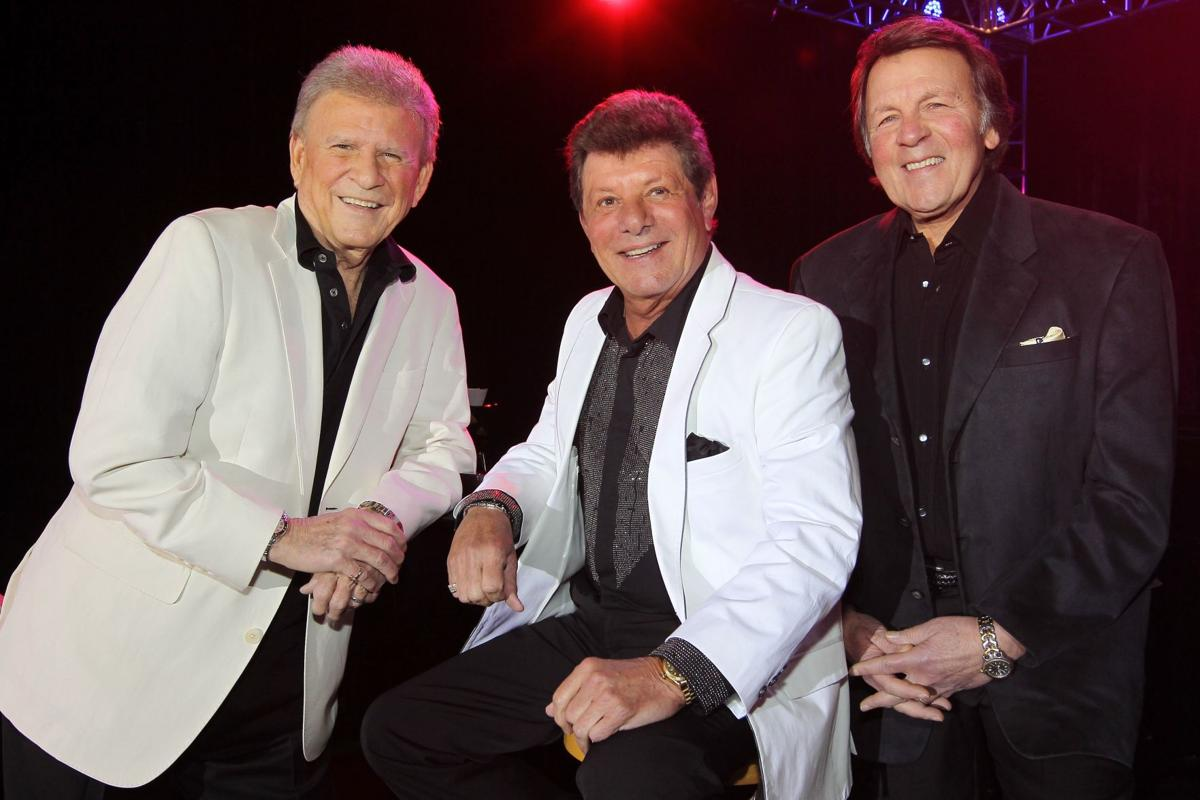 Frankie Avalon Pics with teen idols rydell, avalon and fabian perform as golden boys this