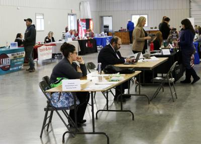 Cattaraugus County Job Fair held at County Fairgrounds