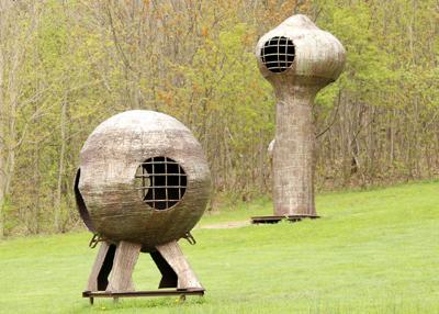 Reconnect with art and nature at Griffis Sculpture Park
