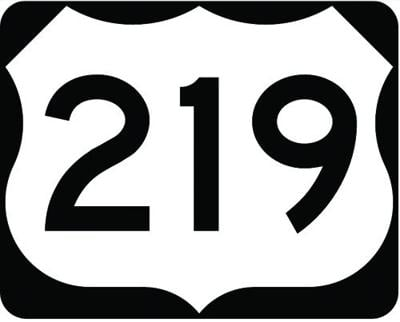 Route 219
