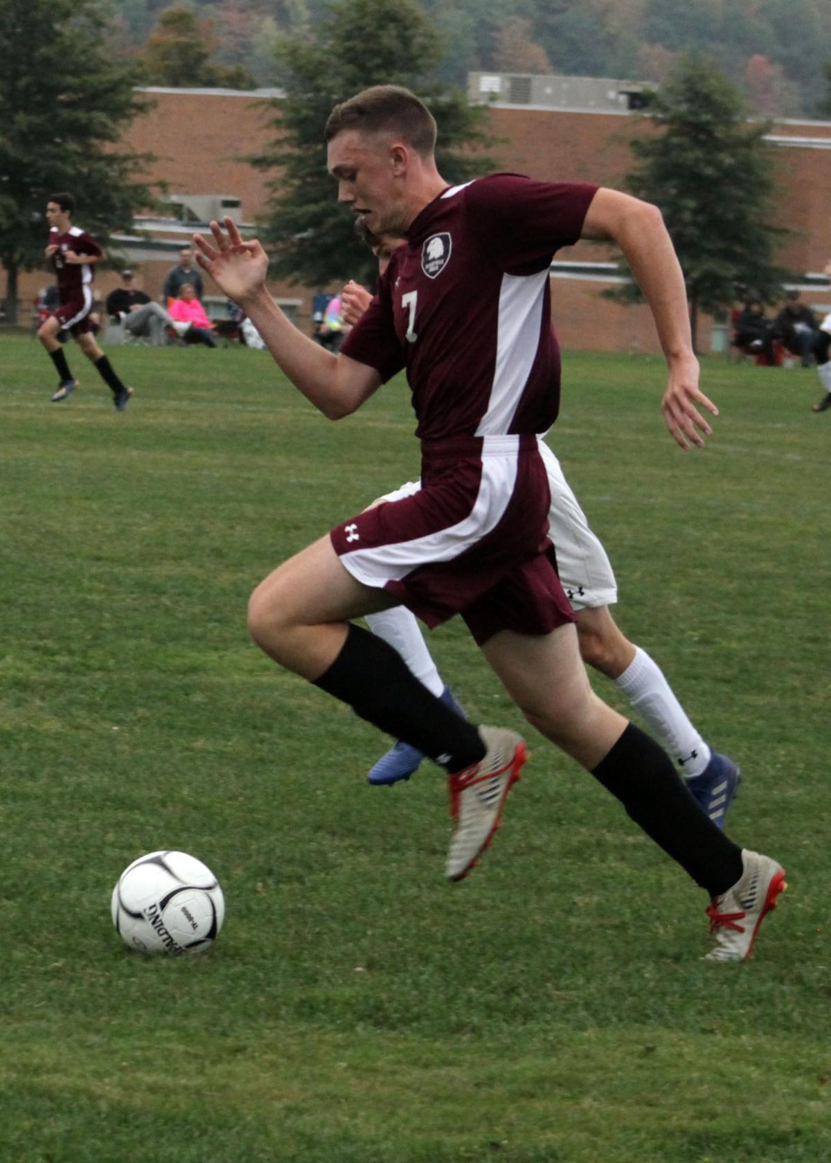 Ellicottville SalamancaCLV boys soccer