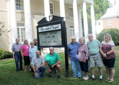 Yellow brick church continues service as the Riverside