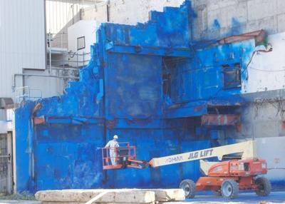 WVDP encapsulates Main Plant office building slab