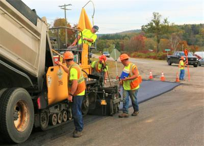 Cattaraugus County DPW winds down 2021 road paving projects
