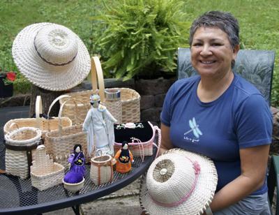 Seneca artist reflects on cultural history of basket making
